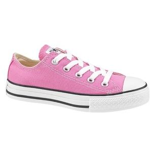 Pink Converse - Youth 3/Women's 5.5